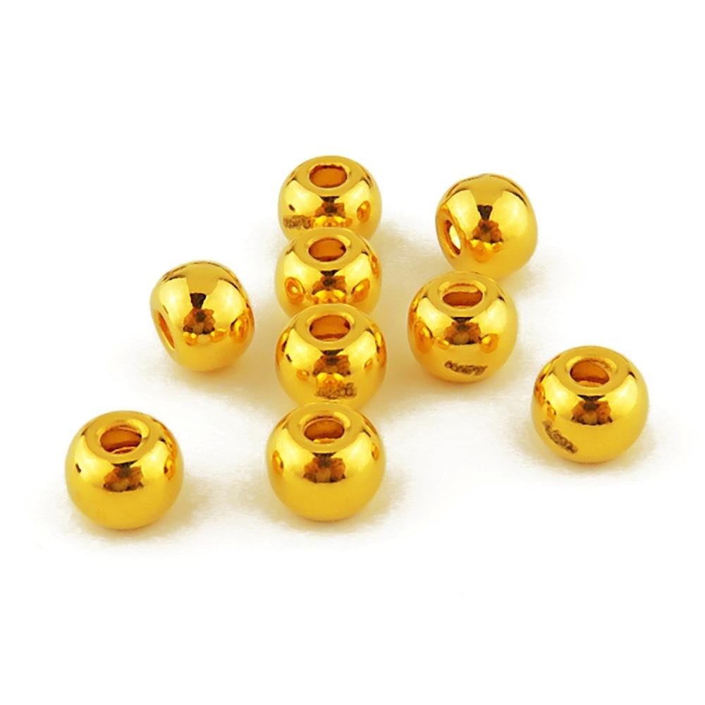 HOT SALE Pure 24K Yellow Gold 3D Pixiu Bead Women/'s Knitted Bracelet
