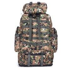 100L Военная Униформа Молл Сумка Кемпинг тактический рюкзак для мужчин большой рюкзаки пеший Туризм Путешествия Открытый спортивные