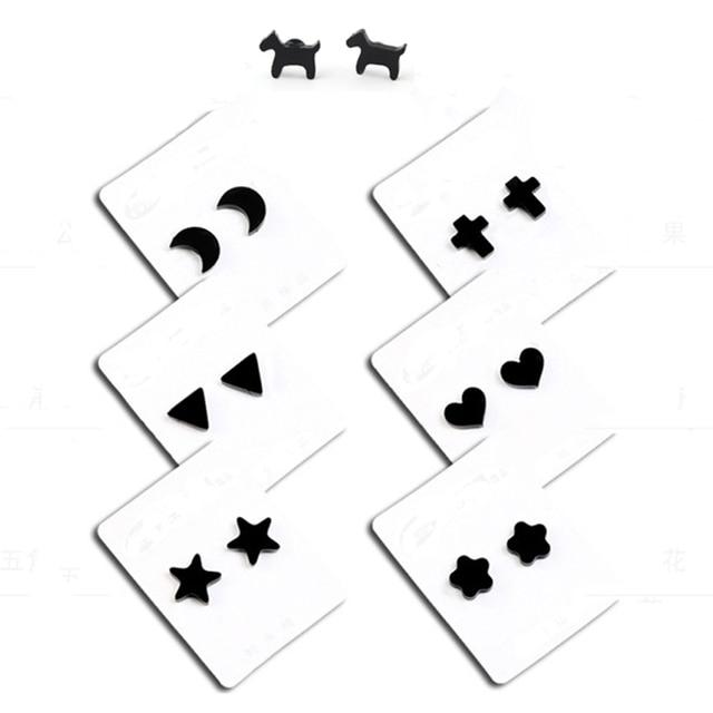 No Piercing Magnetic Stud Earing For Women Men Kid Baby Moon Dog Star Heart Flower Triangle.jpg 640x640 - No Piercing Magnetic Stud Earing For Women Men Kid Baby Moon Dog Star Heart Flower Triangle Cross Small Magnet Earring Ear Studs