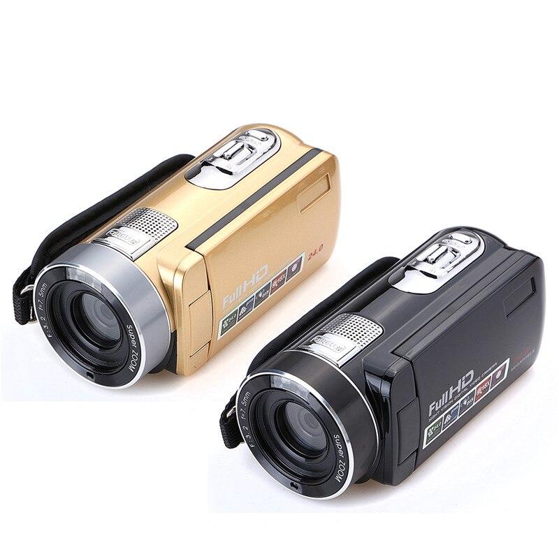 Caméscope vidéo HD à Vision nocturne infrarouge de 24 millions de Pixels caméra numérique 1080 P à main caméscope numérique à Zoom numérique caméscope DV - 6