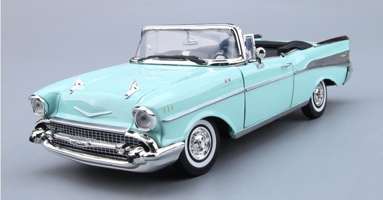 Lnl 1 18 Skala 1957 Chevrolet Glocke Vintage Cabrio Präzision Miniaturen Modell Auto Miniature Model Car Modelminiature Scale Models Aliexpress