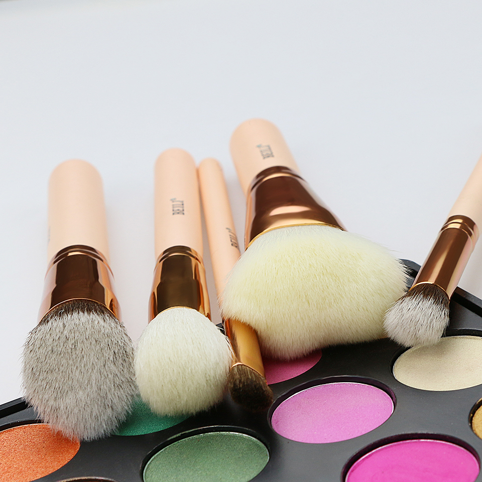 BEILI Rose Golden 5st make-up kwast Set Vol.1 poeder Contour - Make-up - Foto 3