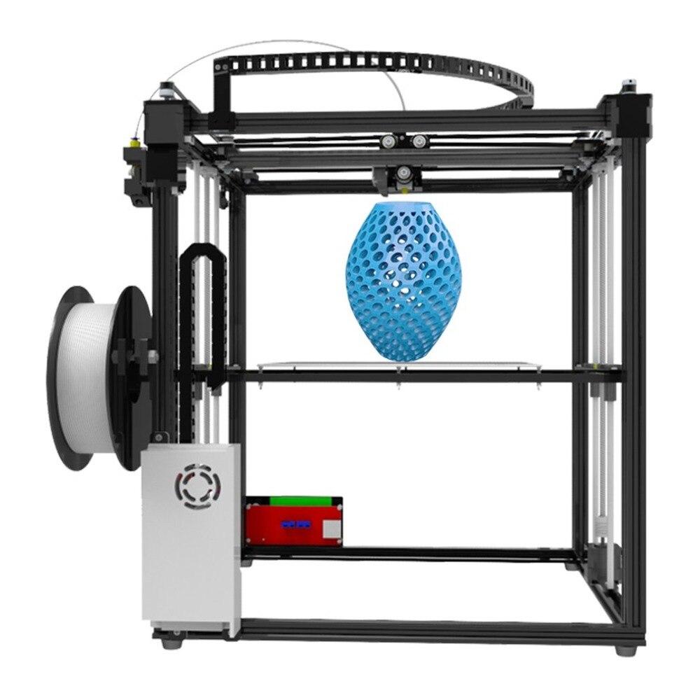 X5S 3D Printer DIY Kits Aluminium Profile Seal 12864 LCD Controller Bowden Extruder Big Heatbed Plate Filament 1.75mm EU Plug все цены