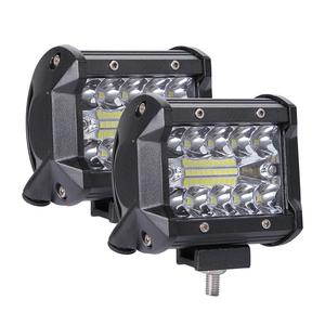 200W 4in Car LED Work Light Bar Driving Lamp for Offroad Boat Tractor Truck 4x4 SUV Fog Light 12V 24V Headlight for ATV Led Bar(China)