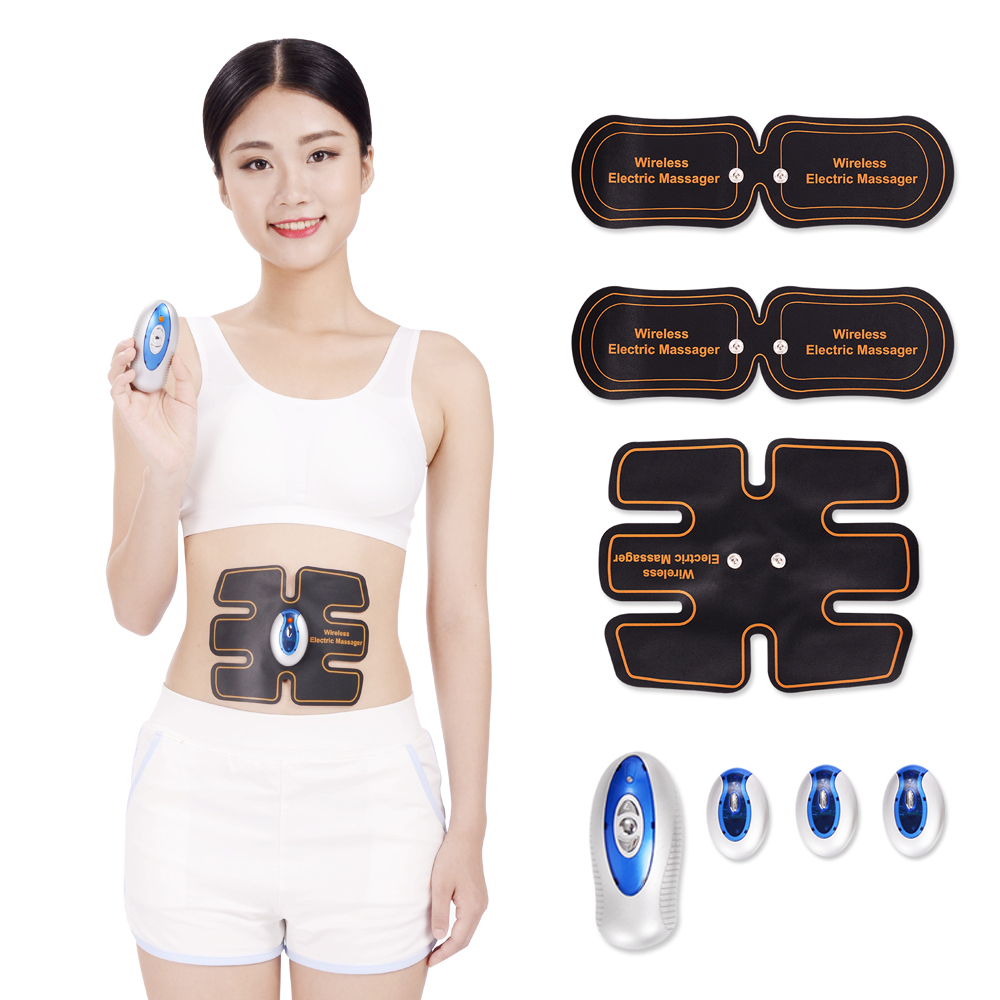 Wireless smart Multi-Function EMS abdominal training Device Hous ABS stimulator intensive training Slimming Massager multi function smart ems abdominal muscle stimulator exerciser trainer device muscles training weight loss slimming massager 30