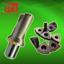 U-drill 2D Depth  Rapid speed Drill  For Drilling insert of  WCMX040208/WCMX 050308/WCMX06T308  free shiping u urill 18mm 72mm depth 4x t max u magic rapid drill blind hole making tool for spmg060204 drilling inserts