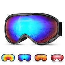 цена на Ski Goggles Double Layers UV400 Anti-fog Skiing Glasses Snow Skiing Men Women Snow Snowboard Goggles Eyewear UV Protection