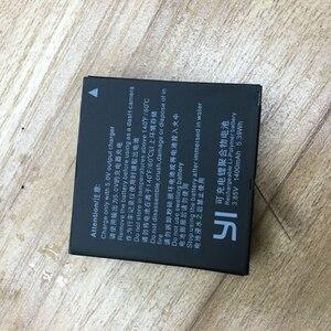 Image 5 - 2pcs 1400mah For Xiaomi YI lite / YI 2/ 4Kplus 4k+ Battery+USB Dual Charger For Original xiaomi yi 4k action camera Accessories