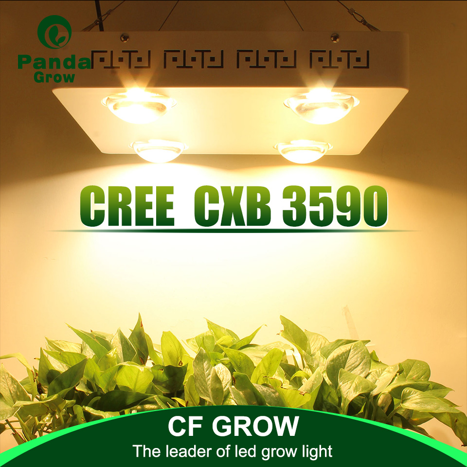 CREE CXB3590 400W cob led grow light full spectrum_01