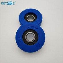 Высокое качество DEYSSE Эскалатор части шаг цепи ролик 76x25 мм 6204-2RS