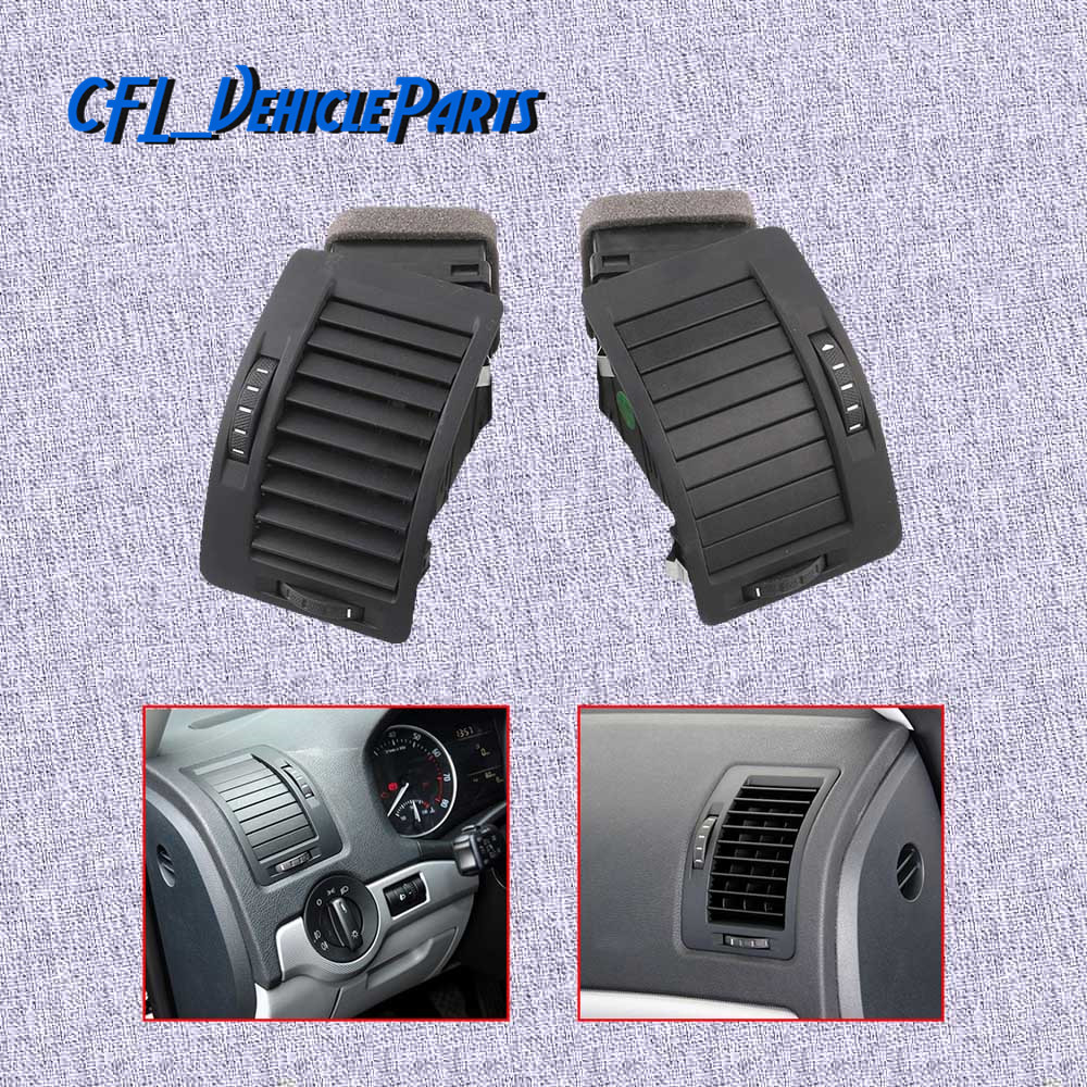Pair Front Left Right Instrument Panel Air Conditioning Outlet Vent 1ZD819701 1ZD819702 For Skoda Octavia 2004 2005 2007 2008