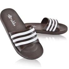 Unisex Nueva Moda Hombre Zapatos de Verano Zapatillas Hombres Zapatillas De Playa Casuales Zapatillas Amantes de Tres Bandas Al Aire Libre zapatilla