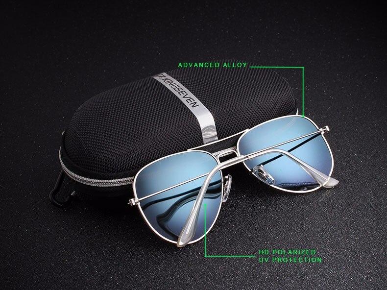 58mm Retro Sunglasses Women Kingseven Luxury Brand Female Sun glasses For Women 16 Fashion Oculos Designer Shades Unisex 3025 5