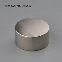 2PCS Super Powerful Neodymium Magnet D40*20mm Strong Pull force N38 Rare earth NdFeB Slow Down Gas Meter Water Meter