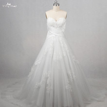 RSW1253 Real Pictures Yiaibridal Sweetheart Neckline A Line