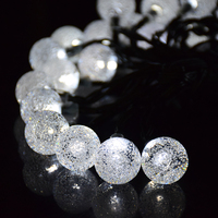Fairy Lights For Outdoor Garden Christmas Decoration Solar Lamp Beads 20 30 LED Wedding Lights Party