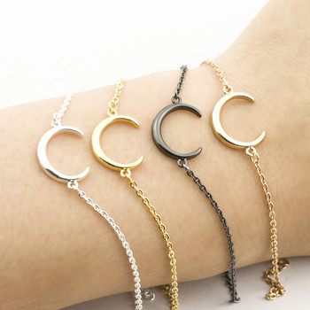 2018 New Arrival Gold silver Moon Star Charms Bracelet for Women Fashion Accessories Bracelets & Bangles Free Shipping