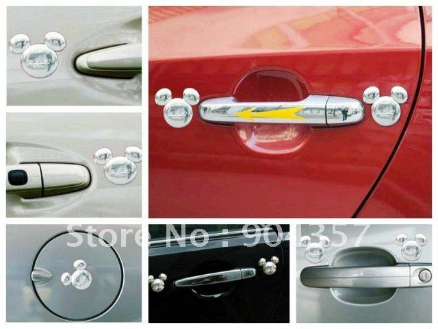 Car Accessories Cartoon Mickey Mouse Rearview Mirror Shroud Wd 105 Shipping