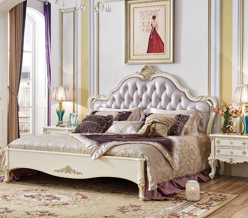 Luxury Bedroom Furniture Stores: Aliexpress.com : Buy Antique Design Bedroom Furniture King