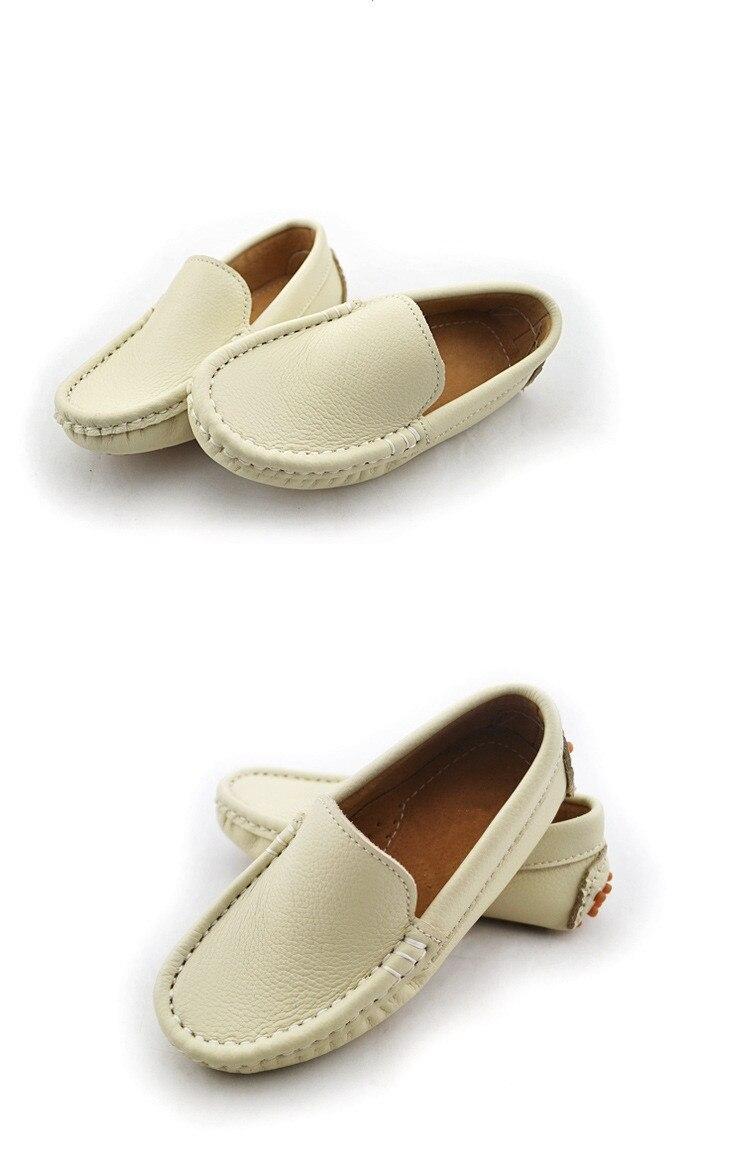 Meninos Sapatos de Couro Do Bebê Da