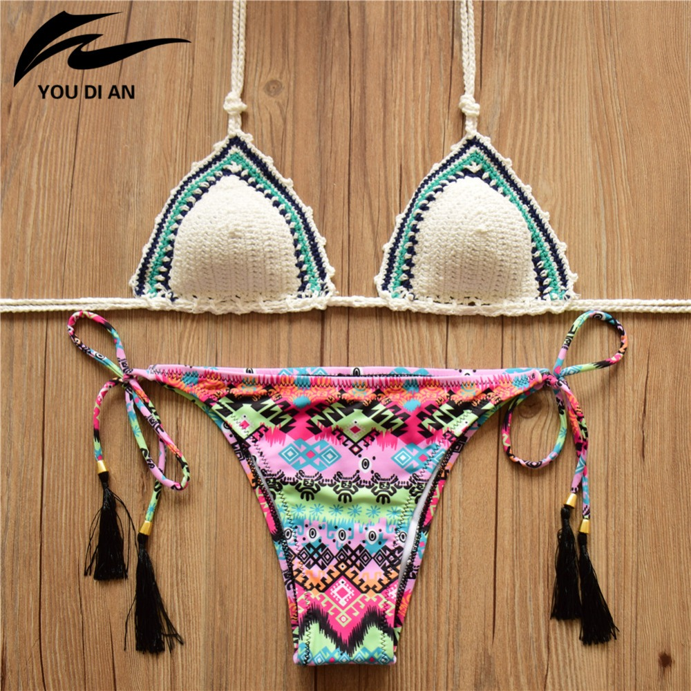 Sexy beach crochet swimwear bikini_wonder beauty lingerie dress fashion store