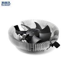 PCcooler E80 cooler quiet for AMD AM2 Am2+ am3 am3+ Fm1 and intel 775 1150 1151 1155 1156 cpu cooling radiator fan silent
