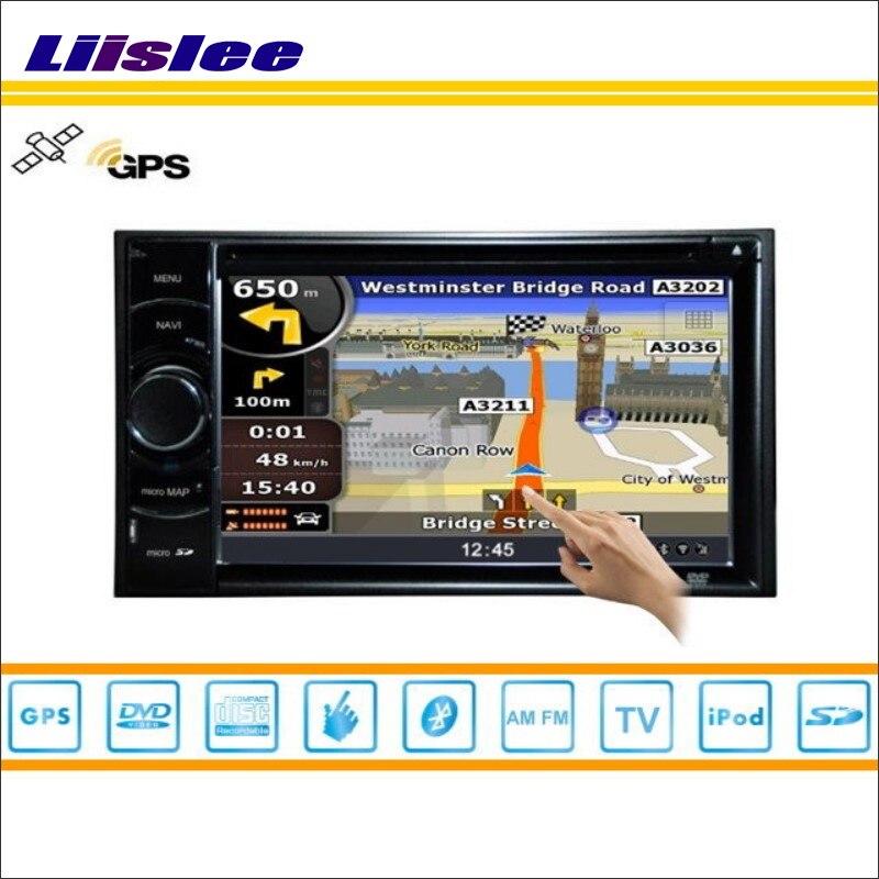 Liislee autoradio pour Ford Excursion 2000 ~ 2005 voiture GPS NAVI carte Navigation stéréo Audio vidéo lecteur CD DVD système multimédia