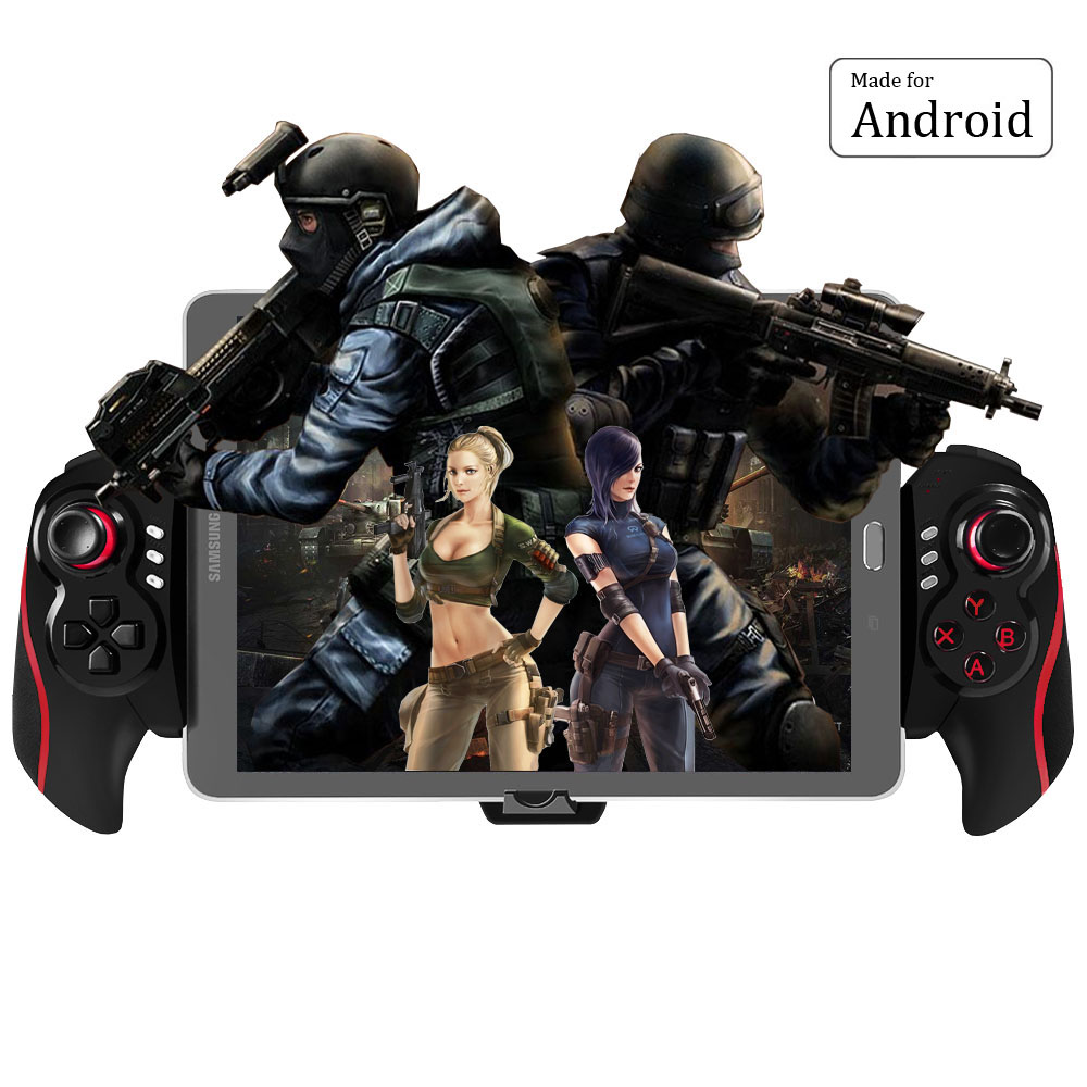 BEBONCOOL Wireless Bluetooth Game Controller Gamepad Joypad Joystick for Android Phone terios s3 wireless bluetooth gamepad bluetooth joystick gaming controller black for android smartphone tablet pc holder included