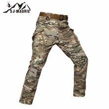 SJ-Maurie мужские военные походные уличные штаны непромокаемые брюки армейские тренировочные тактические брюки для альпинизма брюки для походов Охота