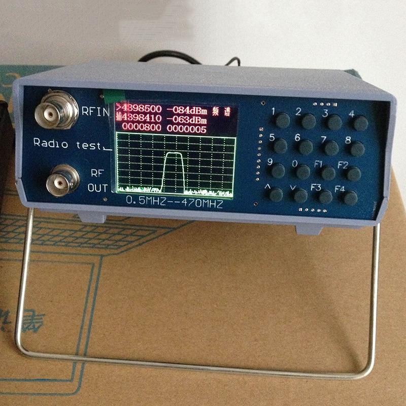 U/V UHF VHF dual band analisador de espectro com fonte de rastreamento tuning Duplexadores
