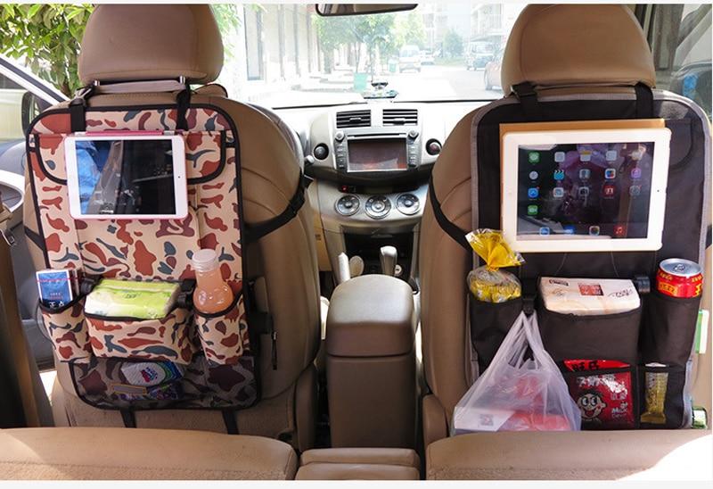 LARATH Auto Back Seat Organizer Holder Multi Pocket Travel Storage Hanging Bag Diaper Baby Kids Car Ipad In Stowing Tidying From