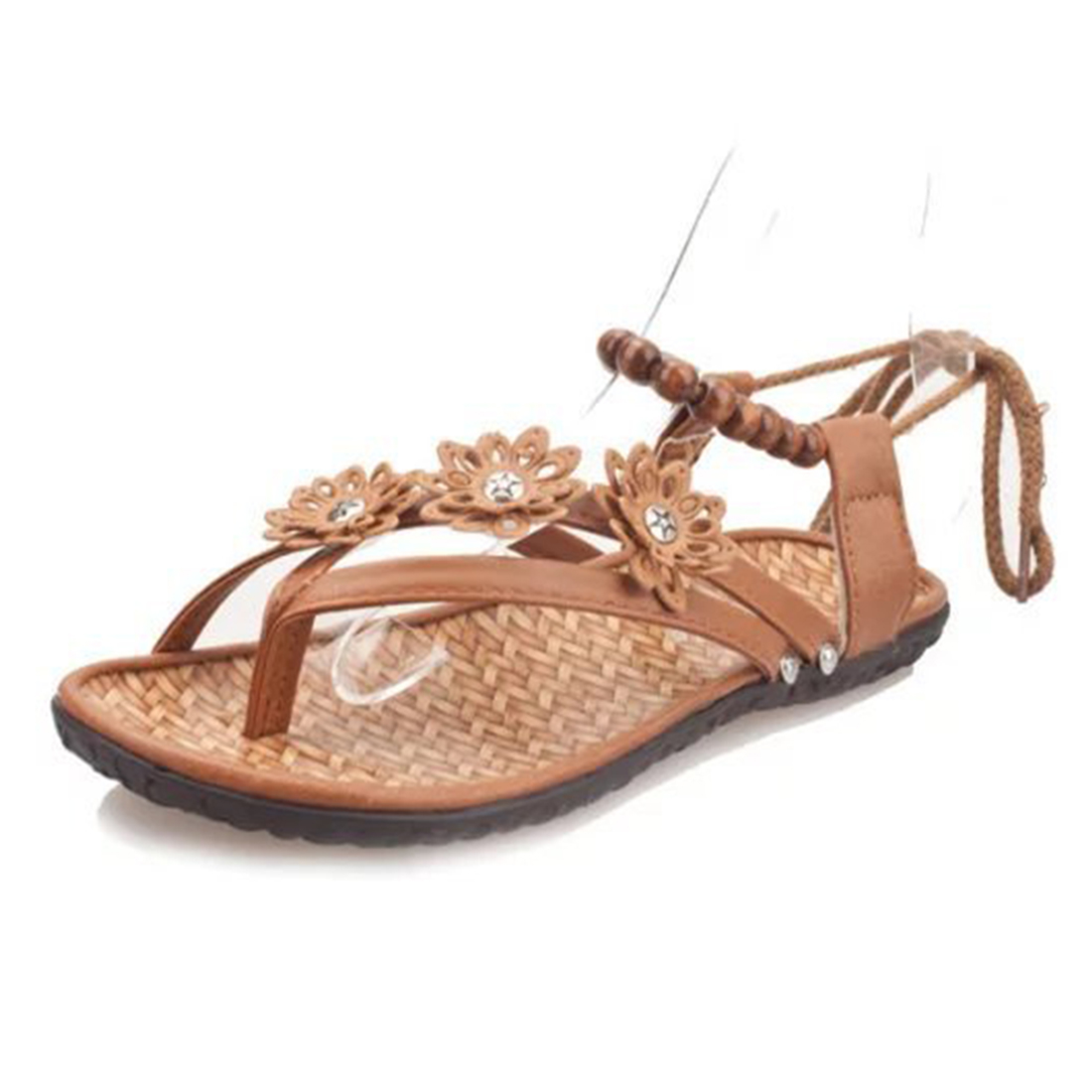 Womens sandals new look - Brand Shoes Woman 2017 New Look Gladiator Sandals Summer Flat Sandals Boots Women Shoes Gift Beading