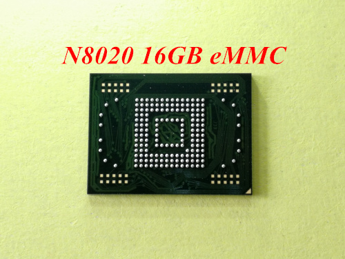 1pcs-5pcs For samsung Galaxy Note 10.1 N8020 16GB eMMC memory flash NAND with firmware1pcs-5pcs For samsung Galaxy Note 10.1 N8020 16GB eMMC memory flash NAND with firmware