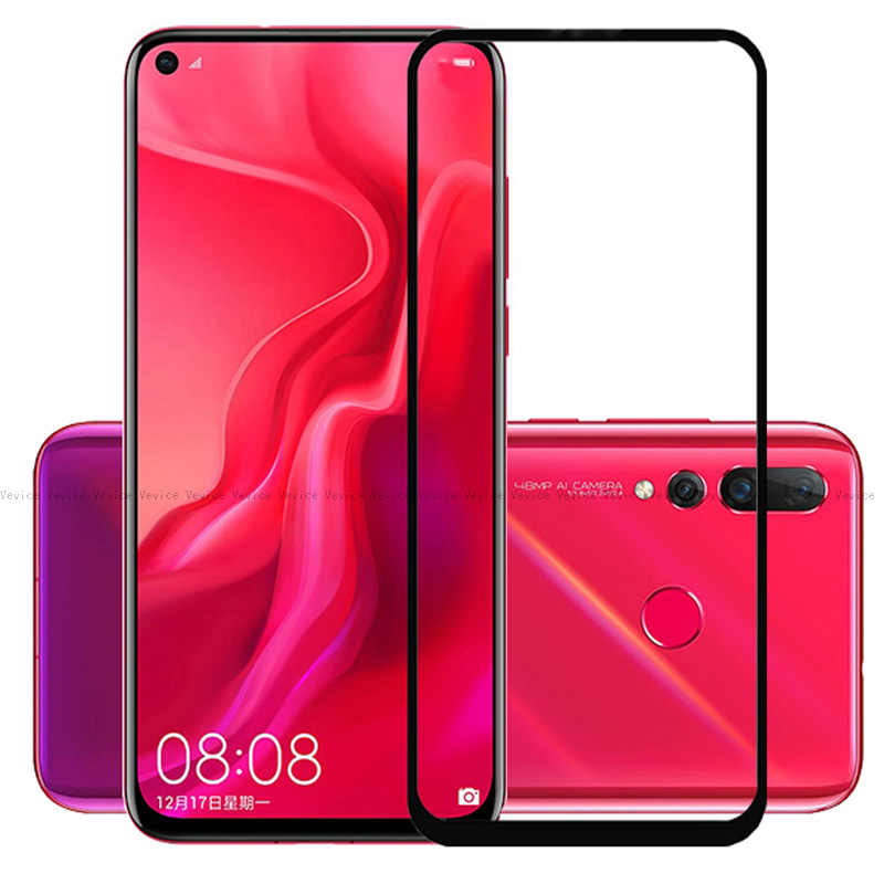 Protective Tempered Glass For Huawei Nova 4 3 3i 3e 2i 2 Plus Smart Full Cover Screen Protective Glass For Huawei nova 3i Film