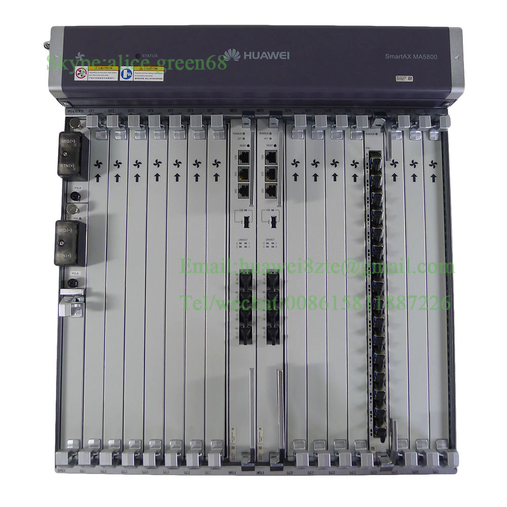 Hua Wei Olt Smartax Ma5800-x7 Included 2*pila And 2*mpla And 2*16 Ports Boards Gphf With 16 C Sfp Sophisticated Technologies Telecom Parts Cellphones & Telecommunications