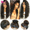 Synthetic Long Curly Wigs For Black Women Fashion Afro Kinky Curly Natural Hair Wigs Cheap Synthetic Curly Wigs With Baby Hair