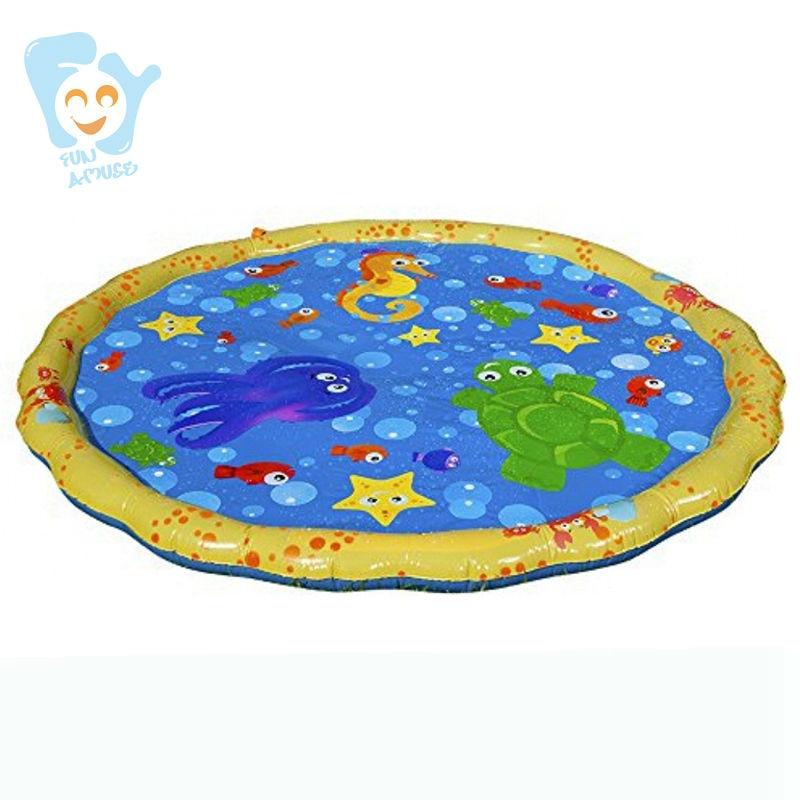 Gonflable Eau Saupoudrer Splash Tapis de Jeu Piscine Flotteur Gonflable Jouets de L'eau Plage Fun Boia De Piscinas