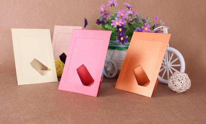 10 pcs/lot 5 Inch DIY <font><b>Colorfull</b></font> Paper Photo Frame For Pictures photo J&Y Art <font><b>Home</b></font> <font><b>Decor</b></font> JY-339