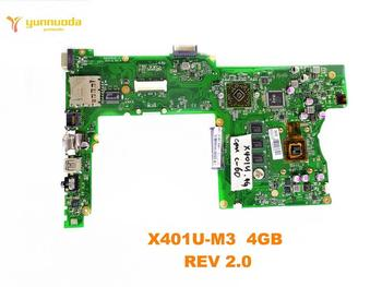 Original for ASUS X401U-M3 laptop motherboard X401U-M3  REV 2.0 tested good free shipping