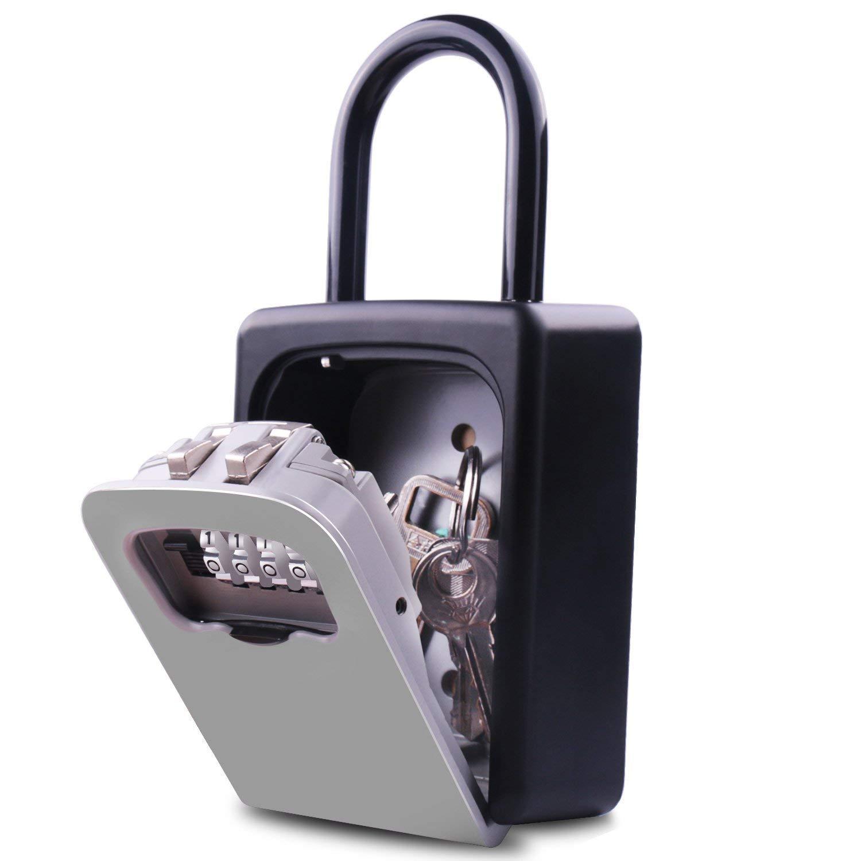 Hot Sale Key Lock Box Wall Mount Key Lock Box 4 Digit