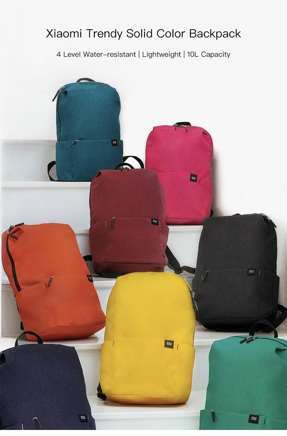 Original Xiaomi Mi Backpack 10L Bag (6)