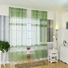 Fabric Drapes Tulle Curtain For Living Room, Bedroom Light Yellow Voile Curtains  For The Windows