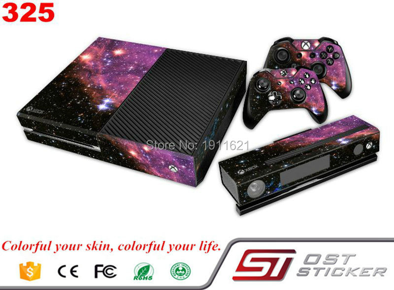 New Arrival Skin For Xbox One Console Game Skin Sticker Cover Vinyl Decals and Controllers Skins For Xbox One Sticker
