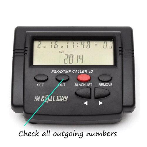 Caller id Boxes parando todas as chamadas frias Bateria : no Need
