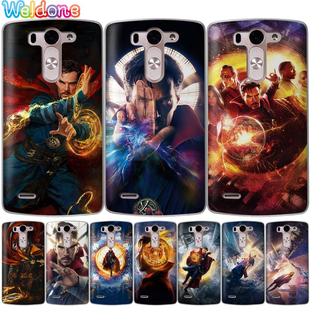 Obedient Cool Marvel Avengers Doctor Strange Phone Case For Lg Q6 Q7 G6 G7 V30 Xpower 2 3 K10 K8 2018 2017 K9 K11 G4 K7 Case Etui Cover Phone Bags & Cases Fitted Cases