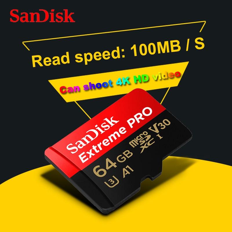 SanDisk Extreme Pro 64 GB 32 GB MicroSDXC Uhs I Speicherkarte Micro