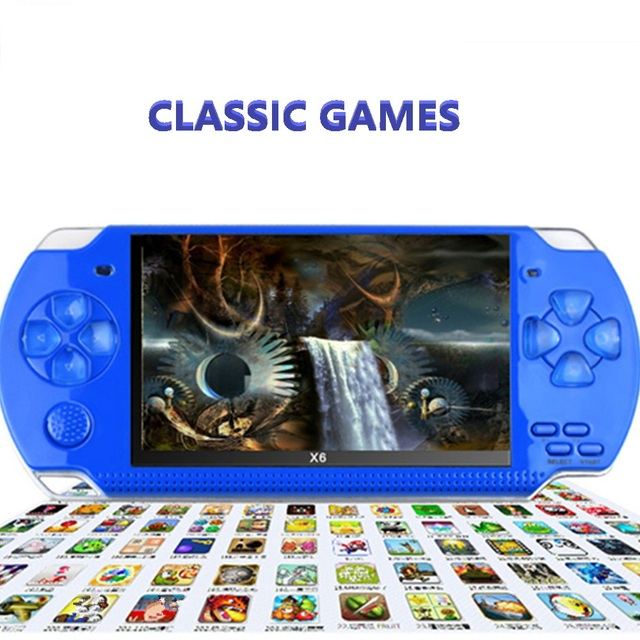 Mini portable gb handheld 8bit tv tetris game player handheld psp.