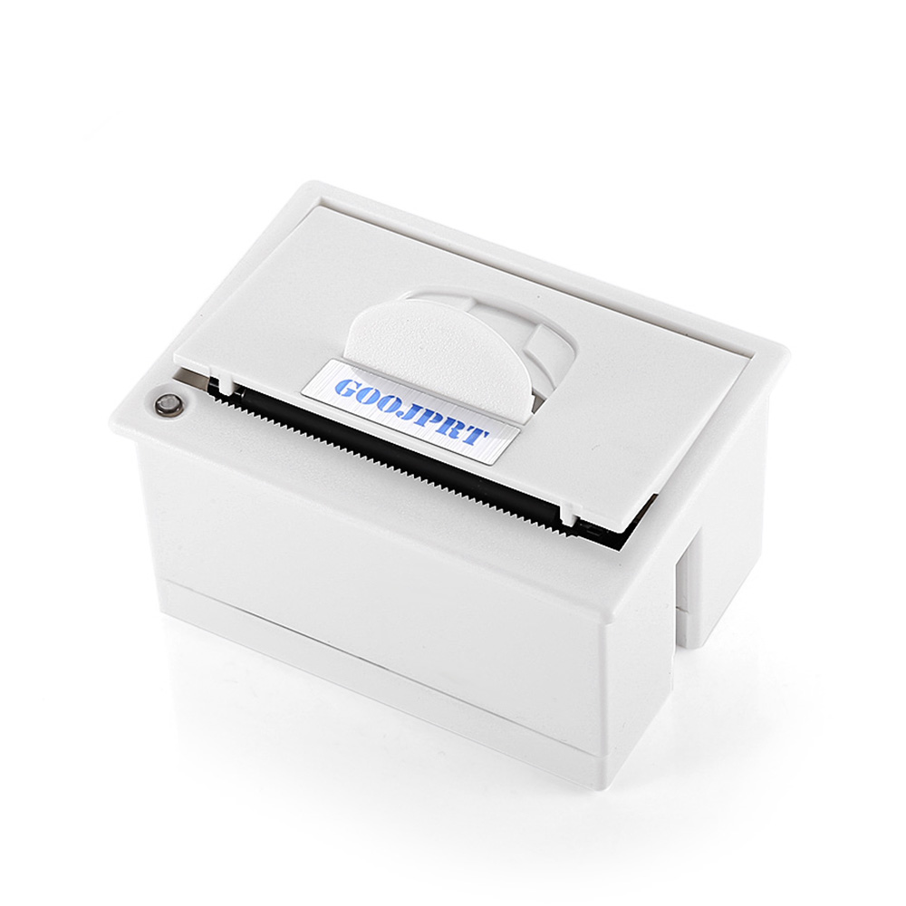 GOOJPRT QR204 58mm Micro Embedded Receipt Thermal Printer RS232  TTL + USB Panel High Speed Printing 50 - 85mm s White Color