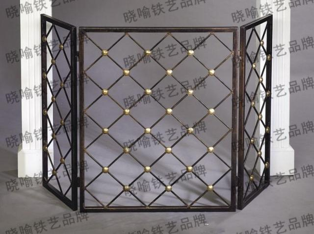 Europe type restoring ancient ways do old high-grade, wrought iron floor mantel1125