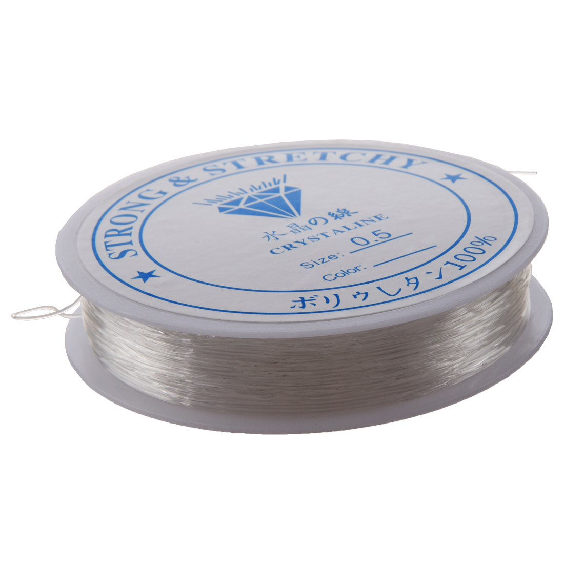 20 Meters Spool of Crystal Clear Strong Beading Thread Cord Wire Jewellery Making Stringing Necklaces Bracelets 0.5mm